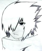 Uchiha Sasuke fan art!~^-^ by irishcute