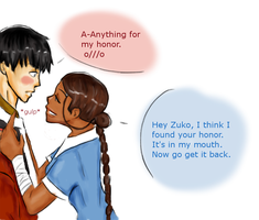 Zutara: Anything For Honor by thefuzzysweater