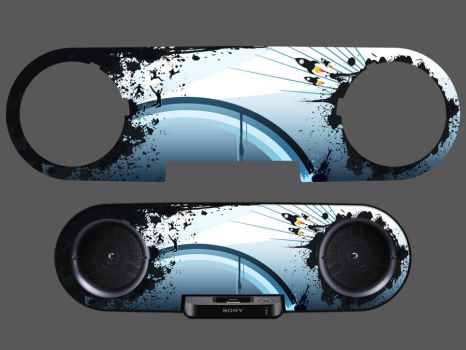 Sony TRIK - Alt. Rock Skin by ed990