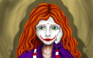 Sad Clown by LadyMartina
