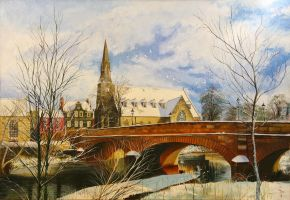 Morpeth Winter by NorthumbrianArtist