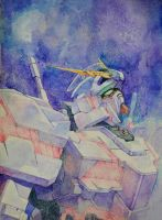 unicorn gundam by hosanna9