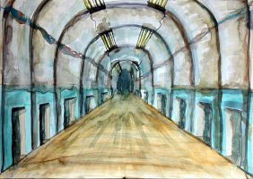 The Tunnels by MadHatterAndTea