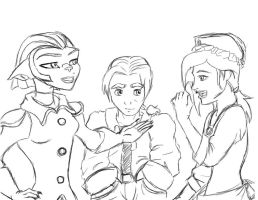 Treasure Planet sketch by LordOfTheShadow97