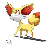 And then walked in Fennekin by sharkjaw