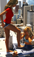 Kendal + Sam - Giantess - 1 by Tegra764