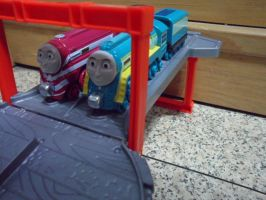 The Streamliners' Race (Take n Play) 2 by ThomasAnime