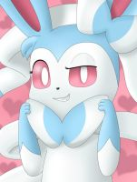 Character Portrait: Sylveon by EvanDaMaster
