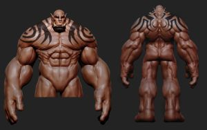 Garrosh WIP by Azetlor