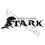 Winter is Coming House Stark Logo by Pegbeard