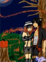 AT: MarcAme - Halloween by StrawberryPandii93