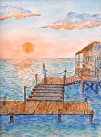 A home on the waves by lu--24