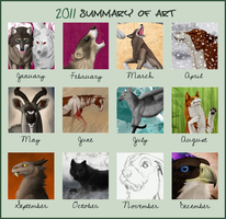 2011 art summary by fiffiluren