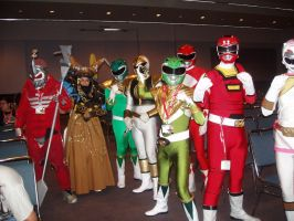 AX 2009 Power Rangers cosplay by The-Clockwork-Crow