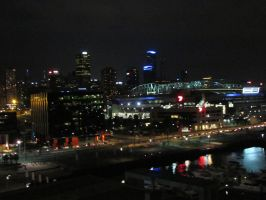 Melbourne At Night by scentedglitter