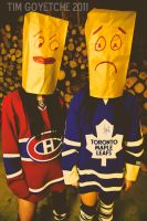 Sad Leafs and Habs Fans LOL by Witch-Dr-Tim