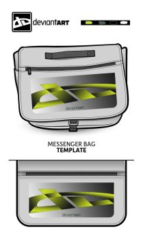 Simple Messenger Bag by Silana2a