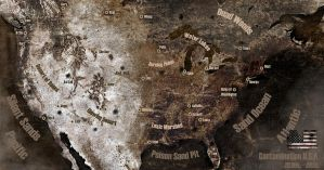 Contamination U.S.A. Map by msgamedevelopment