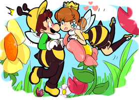 Sweet honey bee by Gam3-Over