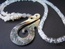 Romero Necklace Water Tribe by Lucem808