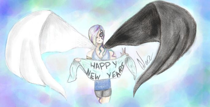 Happy New Year!!!! (Sorry I'm late) by Gleae