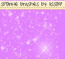 Sparkle Brushes by LissaParadiseglowYT
