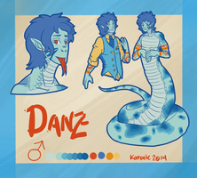 Danz Reference Sheet by Kama-ItaeteXIII