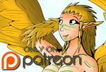 Harpy Girl on Patreon by Inudono19