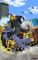 Kaiju Free For All by DR-Studios