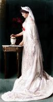 Grand Duchess Tatiana of Russia in court dress by klimbims