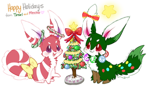 Peppermint and Pine by Ambunny