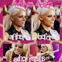 Action Maryse by DivasAndSuperstars