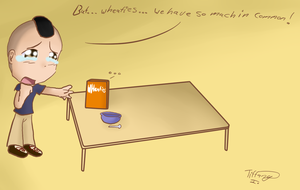 Mark loves his Wheaties by iTiffanyBlue