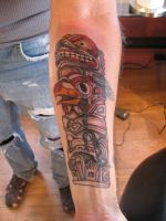 totem cover up by flyingants