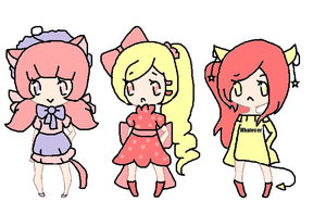 sweet and evil adopts~closed by Chibii-chii
