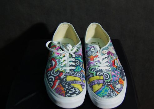 Custom Vans Front by HybridMoments77