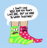 SOCK PARTNERS by Knitti
