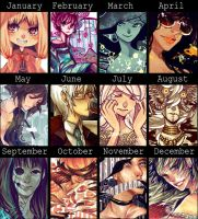 Art Summary 2012 by 6ooey