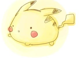 omgsh fat pikachuu by quirkessence