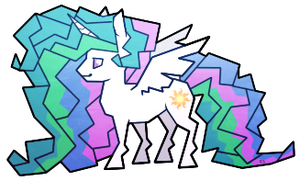 Celestia Sticker by CaptiveLegacy