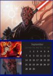 Sith Calendar - 09 September - Darth Maul/Savage by DarthVaderXSnips