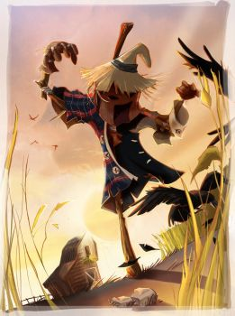 Scarecrow-ilustracion final by ruth2m
