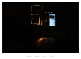 Drawing with light by 9lr