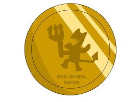 Boil in Hell Badge by RyuPointGame