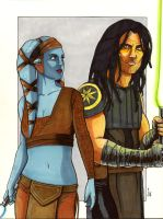 Aayla and Quinlan Commission by ragelion