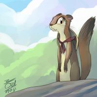 The Jorney of Otter by aun61