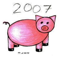 Year of the Boar: 2007 by Omicheese