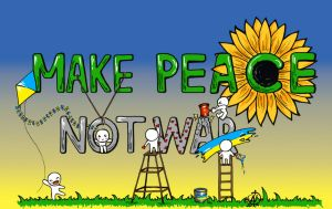 Make Peace Not War by hickis