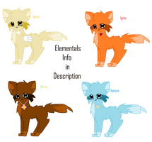 Elementals Reference by nooks-crannies