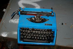 Belfour Typewriter by vicissitude-stock